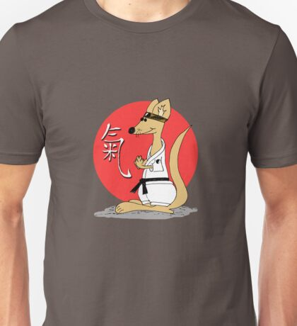 Karate Kämpfer Chi Unisex T-Shirt