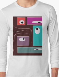 Loopy Eyes Long Sleeve T-Shirt