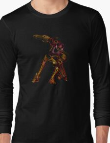 Metroid Neon Long Sleeve T-Shirt