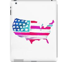 Watercolor United States of America iPad Case/Skin