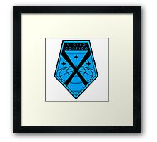 XCOM Project Staff Shirt Framed Print
