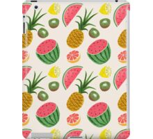 Simple Fruit Pattern iPad Case/Skin