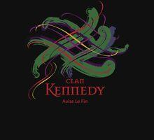Clan Kennedy - Prefer your gift on Black/White tell us at info@tangledtartan.com  Unisex T-Shirt