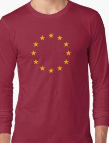 EU Flag T-shirt - Europe - I love the European Union Long Sleeve T-Shirt