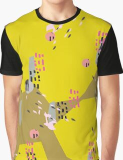 Crazy Yellow Pop Graphic T-Shirt