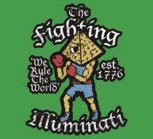 The Fighting Illuminati Kids Tee
