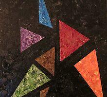 Trikonasana - Triangle Pose by Sebastian Alappat