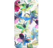 Floral Butterflies iPhone Case/Skin