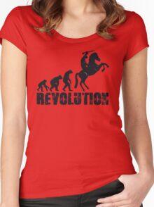 Caesars Revolution Women's Fitted Scoop T-Shirt