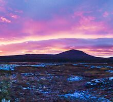 Icelandic sunset colours by Stanciuc