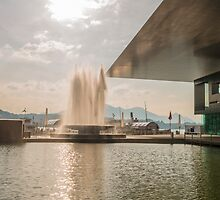 Water fountain by Mats Silvan
