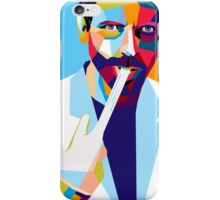 House MD - Polygonal portrait iPhone Case/Skin