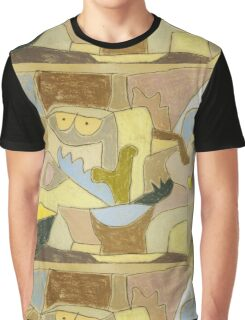 Paul Klee - True Also For Plants. Abstract painting: abstract art, geometric, expressionism, composition, lines, forms, creative fusion, spot, shape, illusion, fantasy future Graphic T-Shirt