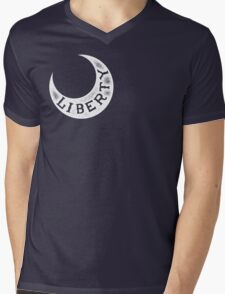 Moultrie Liberty Flag Mens V-Neck T-Shirt