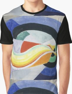 Robert Delaunay - Propeller. Abstract painting: abstraction, geometric, expressionism, composition, lines, forms, creative fusion, music, kaleidoscope, illusion, fantasy future Graphic T-Shirt
