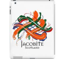 Jacobite - Prefer your gift on Black/White tell us at info@tangledtartan.com  iPad Case/Skin
