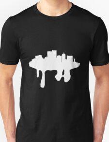 melting city- white Unisex T-Shirt