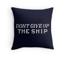 Commodore Perry Flag Throw Pillow