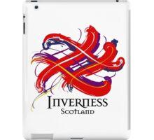 Inverness, Scotland - Prefer your gift on Black/White tell us at info@tangledtartan.com  iPad Case/Skin