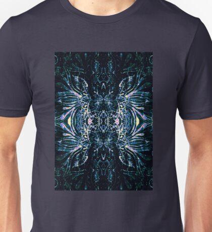 Blue drawing symmetry Unisex T-Shirt