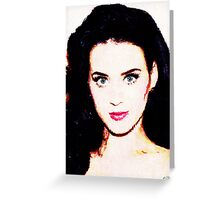 Katy Perry Greeting Card