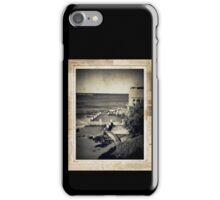 the seaside ~ a nostalgic study III iPhone Case/Skin