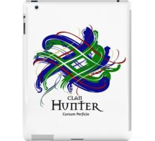 Clan Hunter - Prefer your gift on Black/White tell us at info@tangledtartan.com  iPad Case/Skin