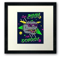 Too Zuul For School Framed Print