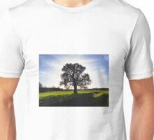 Backlit Tree Unisex T-Shirt