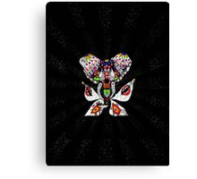 One invader Canvas Print