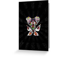 One invader Greeting Card