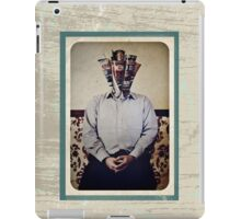 Still Life with The Faceless Man iPad Case/Skin