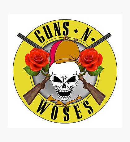 Guns-N-Woses Photographic Print