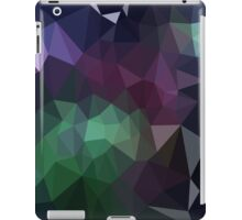 Green and Purple Abstract Crystalline Fractal  iPad Case/Skin