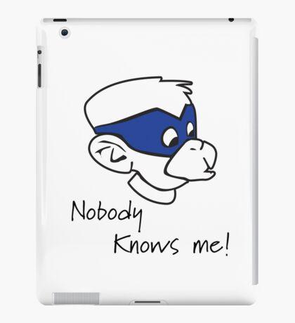 Undercover monkey! iPad Case/Skin