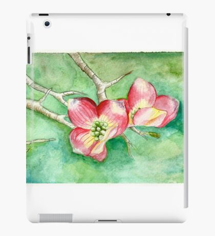 Dogwood Blossoms iPad Case/Skin