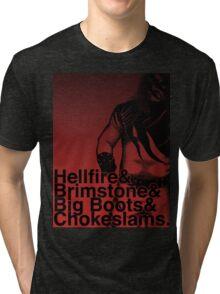 Helvetikane Tri-blend T-Shirt