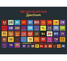 Chocolate Bar Table Photographic Print