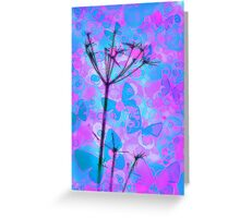 Butterfly Skies Greeting Card