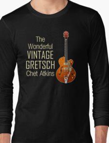 Wonderful Vintage Gretsch Long Sleeve T-Shirt