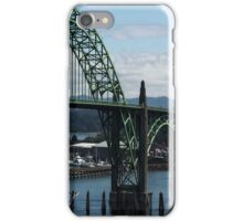The Bridges Of Oregon's Coast - The Alsea Bay Bridge ©  iPhone Case/Skin
