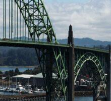 The Bridges Of Oregon's Coast - The Alsea Bay Bridge ©  Sticker