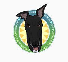 Greyhound Love (Black) Unisex T-Shirt