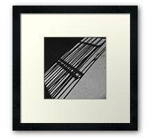 Shadows of Framed Print