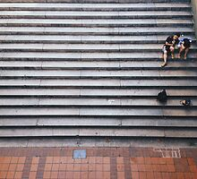 Stair Rest by mar78me