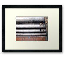 Stair Rest Framed Print