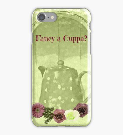 sage tea iPhone Case/Skin