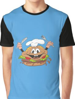 Burger chef Graphic T-Shirt
