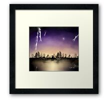 Small Doctor Who print Framed Print