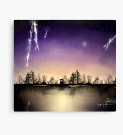 Small Doctor Who print Canvas Print
